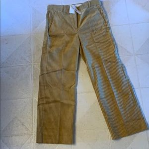 New With Tags Woman's J Crew Crop Corduroy Pants